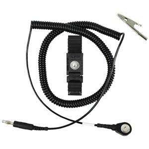 04549-リストストラップ、TRUSTATエルゴ、黒、コード長さ 3.65 m、4 mm