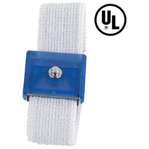 09105-リストバンド、JEWEL、伸縮性長さ調整機能付き 青、4 mm