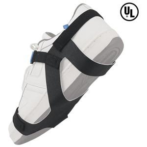 17290-静電気対策靴用ストラップ、靴底全体、 プレミアム、2MEG抵抗付き、Sサイズ