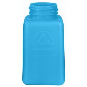 35261-静電気拡散性ボトル、ボトルのみ、青、HDPE、180cc