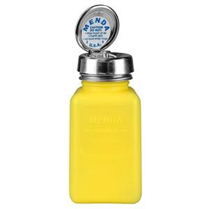 35267-静電気拡散性ボトル、黄色、ピュアタッチ、HDPE、180cc