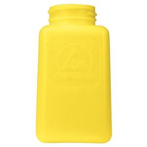 35497-ボトルのみ、DURASTATIC、黄色、静電気拡散性、HDPE、180cc