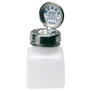35505-ディスペンサー、PURE-TOUCH、白、角型 高密度ポリエチレン、120cc