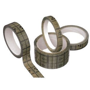 81250-TAPE, WESCORP, ESD CONDUCTIVE GRID, 12 MM x 36 M