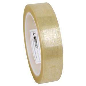 79205-テープ、WESCORP、透明、静電気防止 25 mm x 65.8 m、76 mm ID