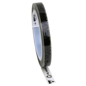 79209-テープ、WESCORP、透明、静電気防止、マーク付き 13 mmx65.8 m、76 mm ID