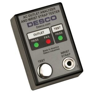 98131-ACコンセントテスター & リストストラップチェッカー、230V 50/60Hz UK/ASIA