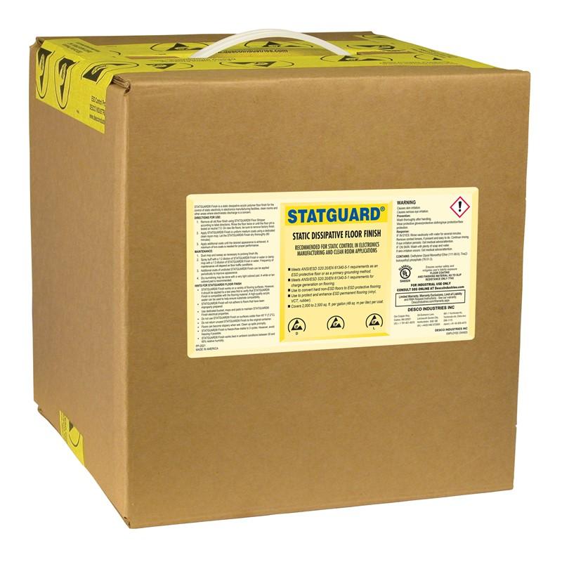 10511-表面処理剤、フロアー、STATGUARD 9.46 L 箱入り