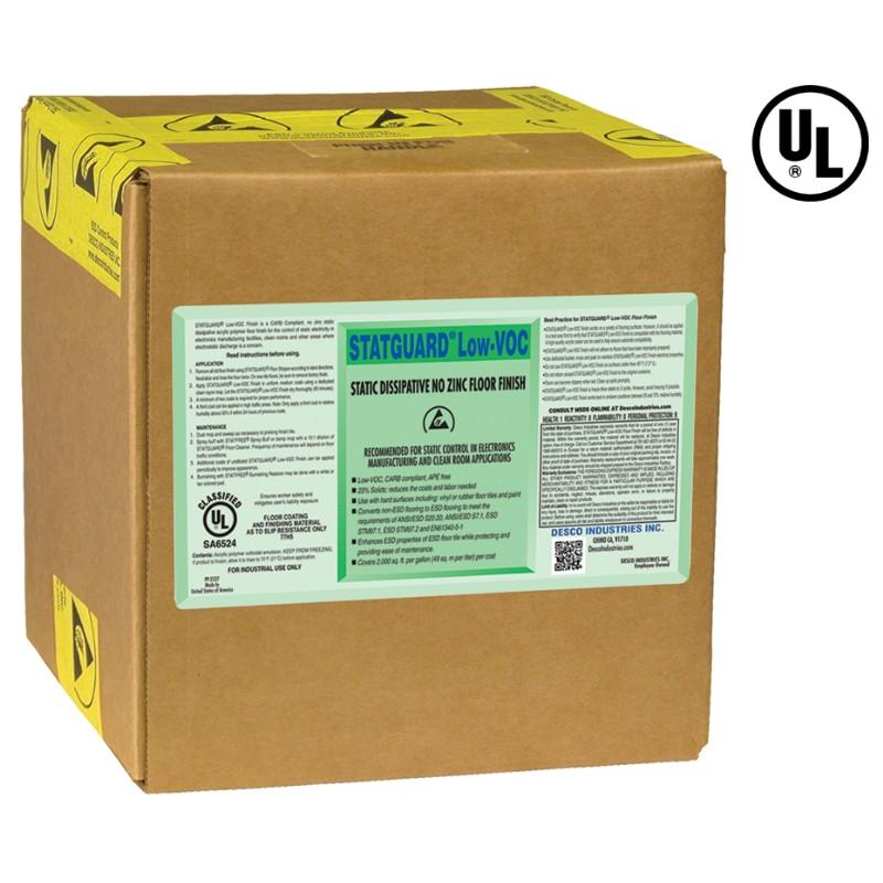 10550-表面処理剤、フロアー、STATGUARD、低VOC、9.46 L 箱