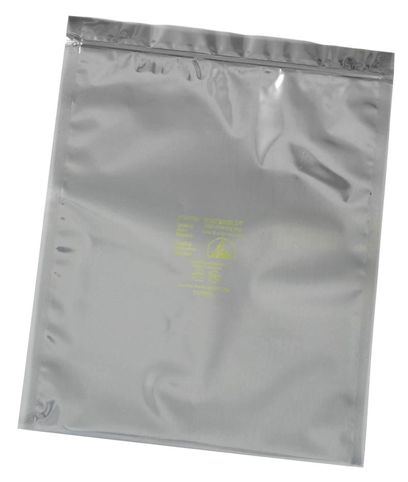 13205-BAG, STATSHIELD, METAL-OUT, ZIP 76MM x 127MM, 100 EA/PACK