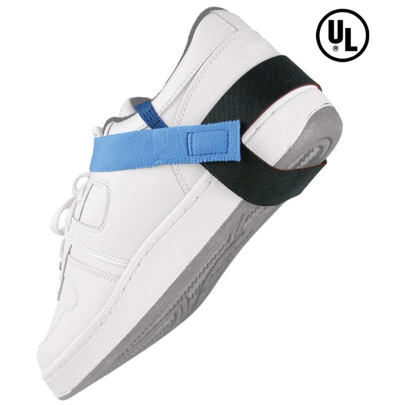 17202-静電気対策靴用ストラップ、かかと、2MEG抵抗