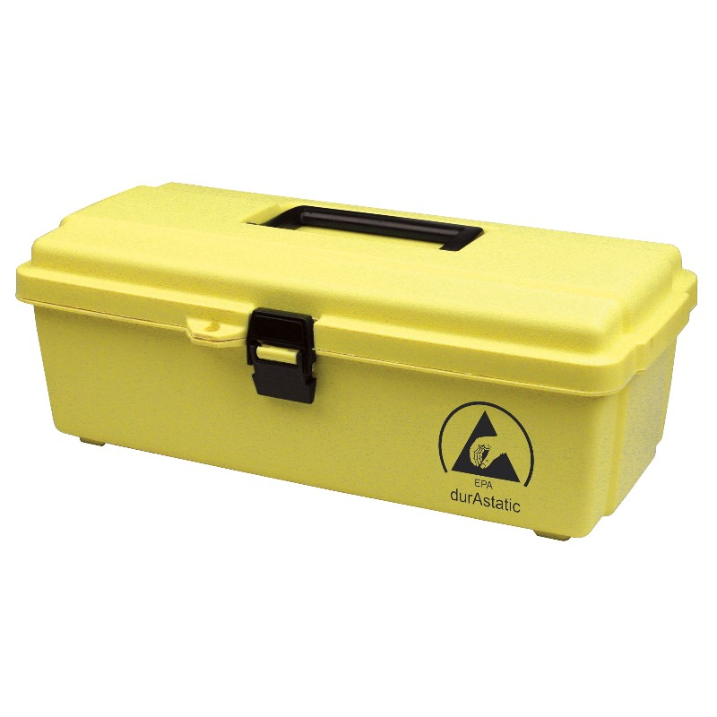 35870-TOOL BOX, DISSIPATIVE, YELLOW