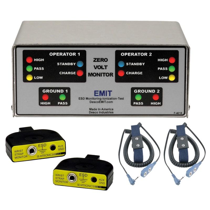 50528-モニター、ZVM1002、リストストラップ2つ付き、100V