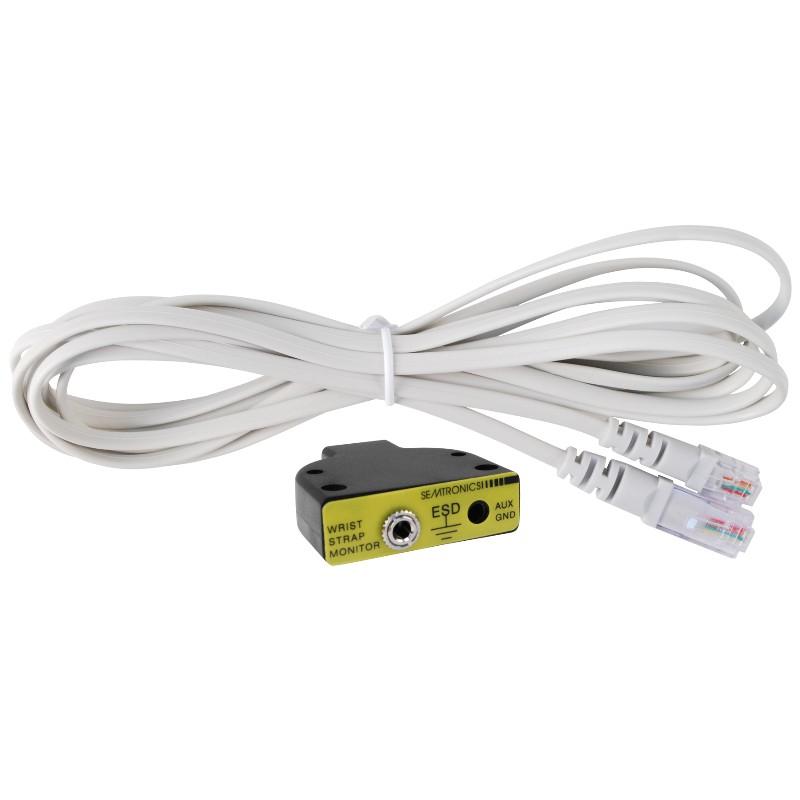 50531-リモートユニット、電線付き 3.05 m、グレー電線、ZVM用