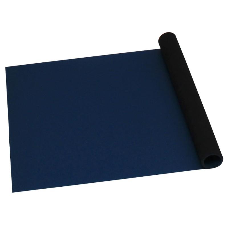 66406-ROLL, STATFREE T2 PLUS RUBBER, DISSIPATIVE,  DARK BLUE, 1.5 MM x 900 MM x 12.2 M