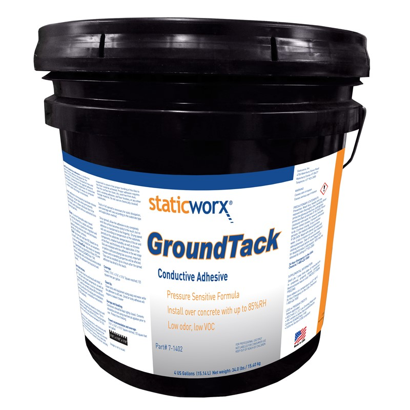81328-CONDUCTIVE CLEAR ADHESIVE, 4 GAL