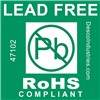 LABEL,LEAD-FREE,RoHS COMPLIANT 76 MM CORE, ROLL OF 500